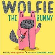 英語絵本「Wolfie the bunny 」
