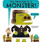 英語絵本「My Teacher is a Monster」
