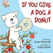 英語絵本「If You Give a Dog a Donut」