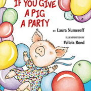 英語絵本「If You Give a Pig a Party」