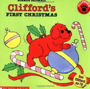英語絵本「Clifford's First Christmas」