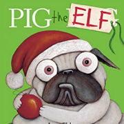 英語絵本「Pig the Elf」