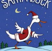 クリスマスの英語絵本「Santa Duck」