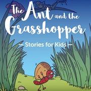 英語絵本「The Ant and the Grasshopper」