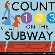 英語絵本「Count 1 2 3 On The Subway」