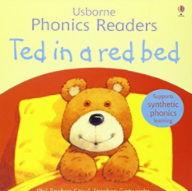 フォニックス絵本「Ted in a Red Bed」