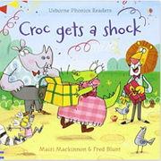 フォニックス絵本「Croc gets a Shock」