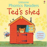 フォニックス絵本「Ted's Shed」