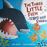 英語絵本「The Three Little Fish And The Big Bad Shark」
