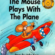 フォニックス絵本「The Mouse Plays With The Plane」