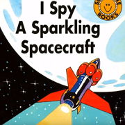 フォニックス絵本「I spy a sparkling spacecraft」