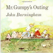 英語絵本「Mr Gumpy's Outing」
