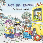 英語絵本「Just Big Enough」