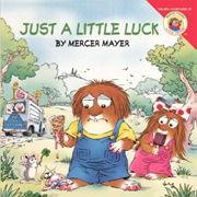 英語絵本リトル・クリッター「Just A Little Luck!」