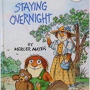 小学生におすすめな英語絵本「Staying Overnight」