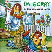 英語絵本「I'M SORRY」