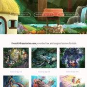 オンライン英語絵本「Freechildrenstories」
