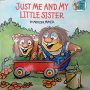 英語絵本Just me and my Little Sister