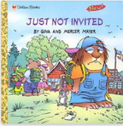 英語絵本「JUST NOT INVITED」
