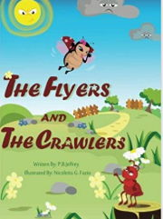 英語絵本「The Flyers and The Crawlers」