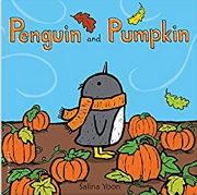 「PENGUIN AND PUMPKIN」ペンギンさんの秋