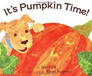 ハロウィーンの英語絵本「It's Pumpkin Time」