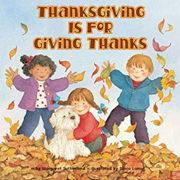 英語絵本「Thanksgiving is For Giving Thanks」