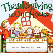 英語絵本「Thanksgiving at our House」