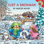 英語絵本「Just a snowman!」