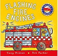 英語絵本「Flashing Fire Engines