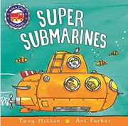 英語絵本「Super Submarines」