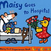 英語絵本「Maisy Goes to Hospital」