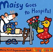 英語絵本「Maisy Goes to Hospital」