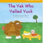 英語絵本「The Yak Who Yelled Yuck」
