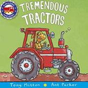 英語絵本「Tremendous Tractors」
