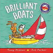 英語絵本「Brilliant Boats」