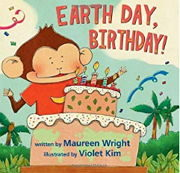 英語絵本「EARTH DAY BIRTHDAY」