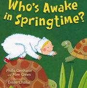英語絵本「WHO'S AWAKE IN SPRINGTIME」