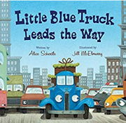 英語絵本「Little Blue Truck Leads the Way」