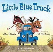 幼児向け英語絵本「Little Blue Truck」