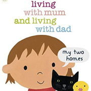 英語絵本「Living with Mum and Living with Dad」