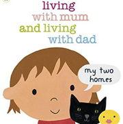 英語絵本「Living with Mum and Living with Dad」