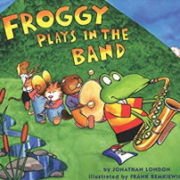 英語絵本「Froggy Plays in the Band」