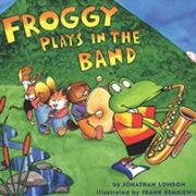 英語絵本「Froggy Plays in the Band」