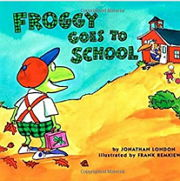 英語絵本「FROGGY GOES TO SCHOOL」