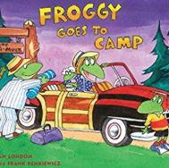 英語絵本「Froggy Goes to Camp」