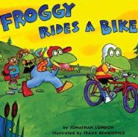 英語絵本「Froggy Rides A Bike」
