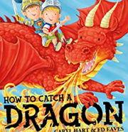 英語絵本「How to Catch a Dragon」