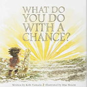 英語絵本「WHAT DO YOU DO WITH A CHANCE?」