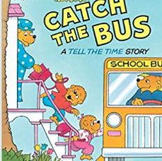 英語絵本「CATCH THE BUS」